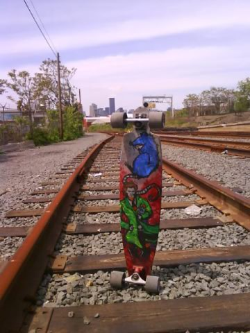 ciego board train trax